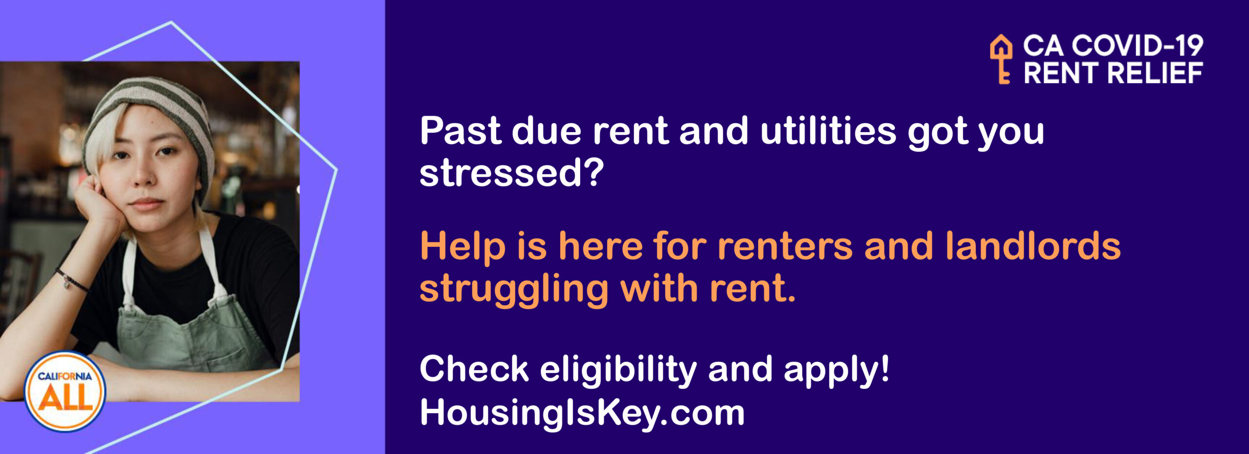 Past due rent and utilities got you stressed?